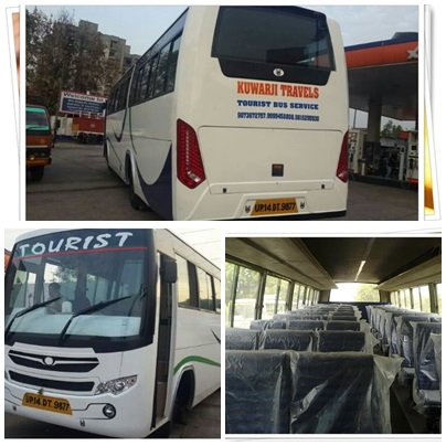 Deluxe 56 seater 3x2 Non A.c Buses