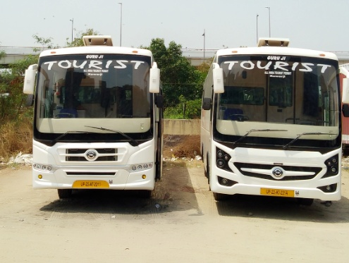 Kuwarji Travels 51 seater 2x2 push back buses