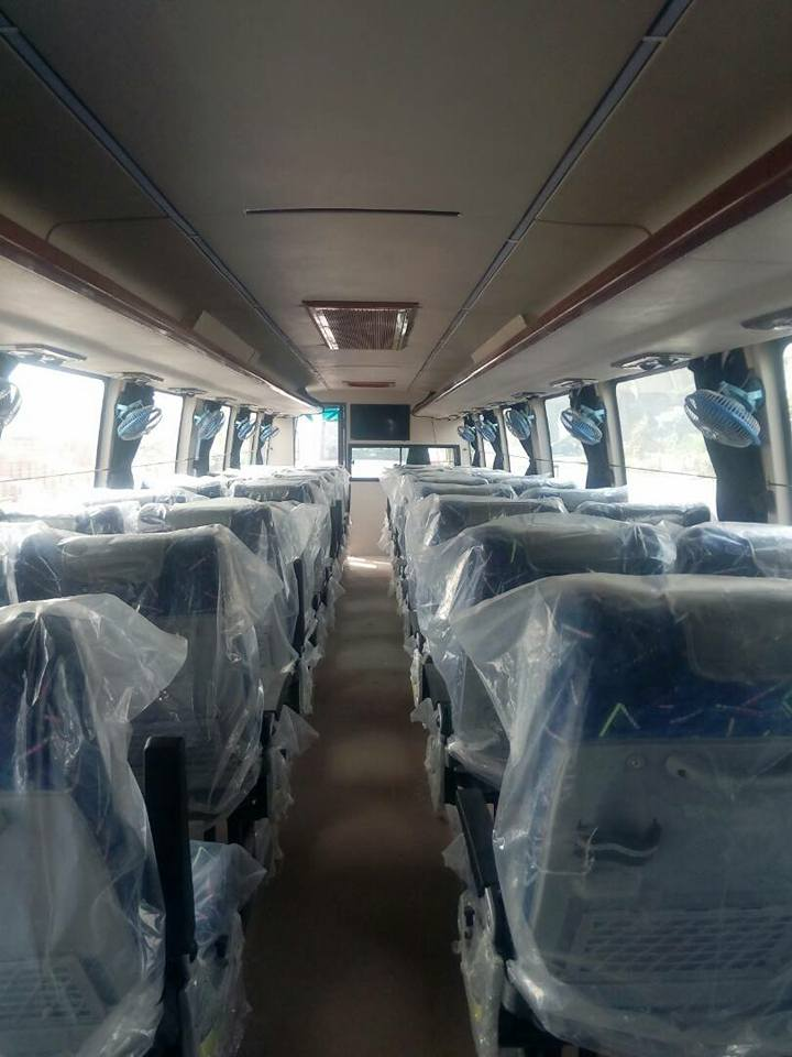 Interior 49 seater 2x2 Buses