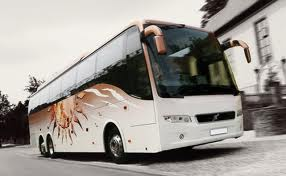 38 Seater Volvo Coach on Rent