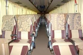 45 Seater Volvo Coach Interior